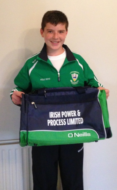 Conor with IPP Bag